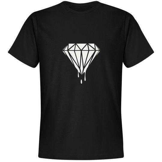 Unisex Diamond Drip Premium Tee