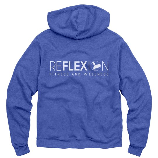 Unisex Fleece Full Zip Mid-weight Hoodie