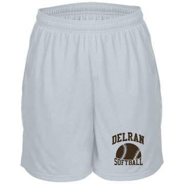 Unisex Softball Shorts