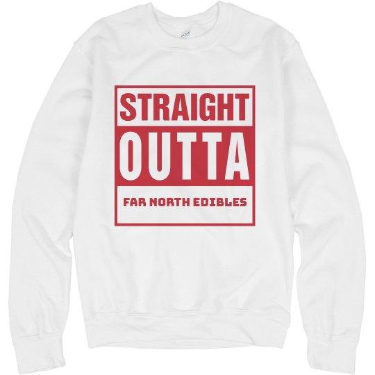 Unisex Straight Outta FNE Crewneck Sweatshirt