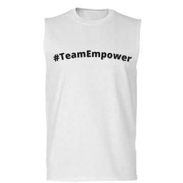 Unisex #TeamEmpower Sleeveless Tee