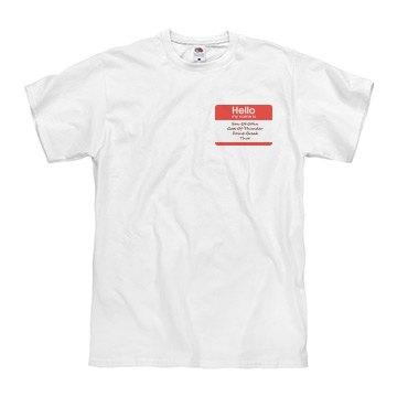 Unisex Thor Name Shirt