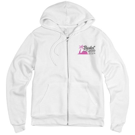 Unisex Zip Hoodie with Logo & Itinerary