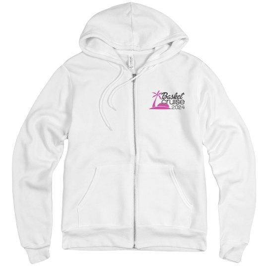 Unisex Zip Hoodie with Logo
