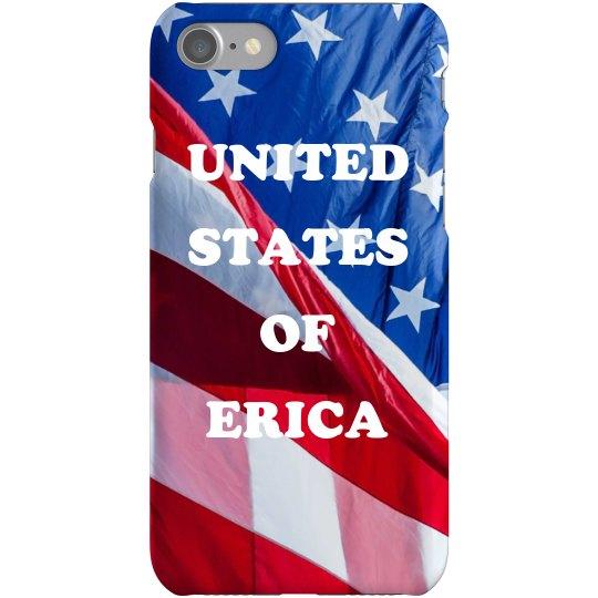 United States of Erica iPhone case