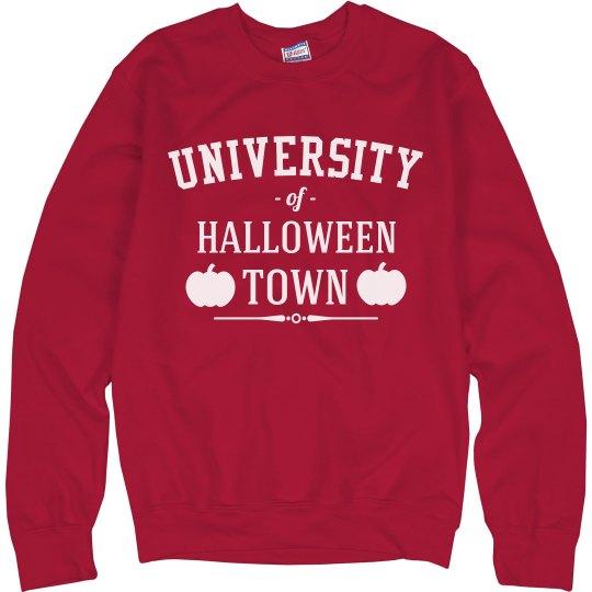 University of Halloween Town Sweater