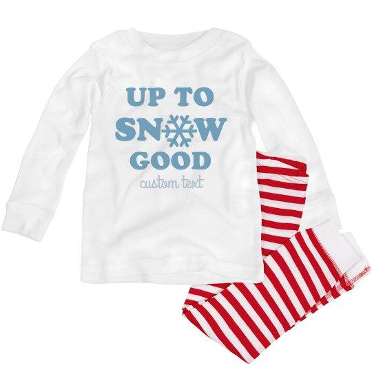 Up to Snow Good Toddler Pajamas