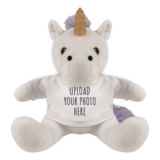 Upload A Custom Photo Unicorn Gift