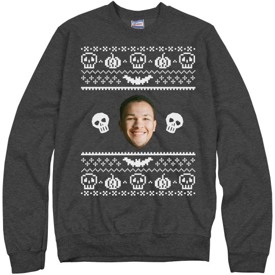 Upload a Face Halloween Ugly Sweater
