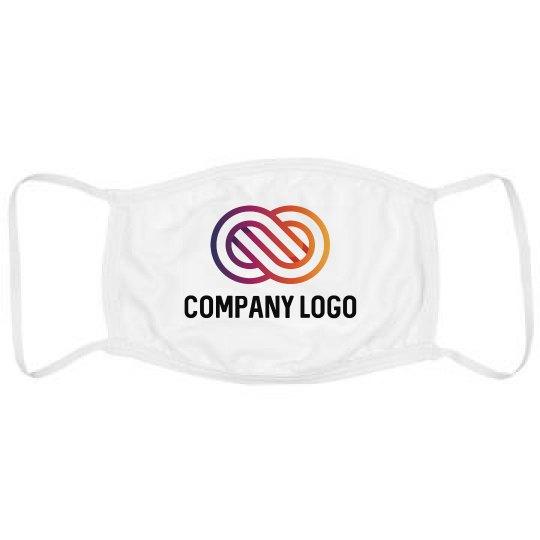 Upload Full Color Logo Custom Masks