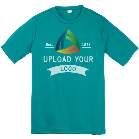 Upload Your Custom Logos Youth Performance Tee