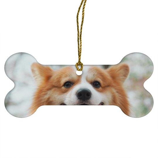 Upload Your Dog Photo Christmas