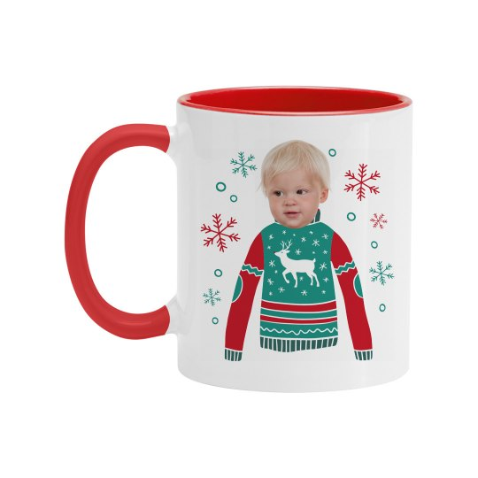 Upload Your Face Christmas Gift