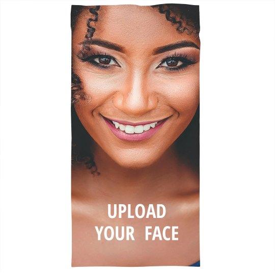 Upload Your Face Photo Custom Mask