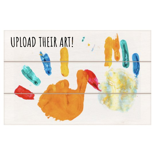 Upload Your Kid's Art Wall Decor