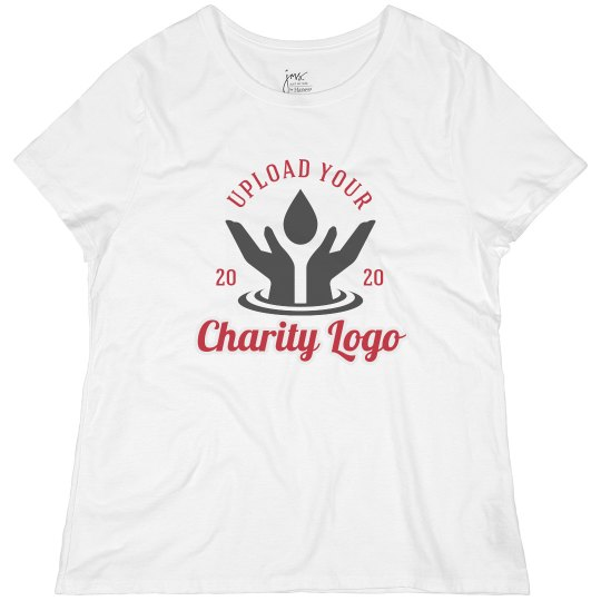 Upload Your Logo Charity Tee