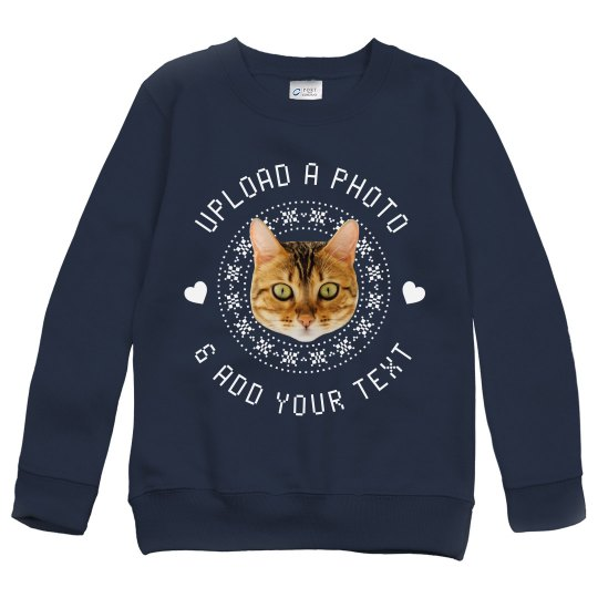 Upload Your Pet Ugly Sweater