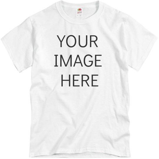 Upload Your Photo Custom Tee