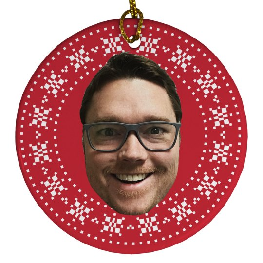 Upload Your Photo Funny Xmas Gift