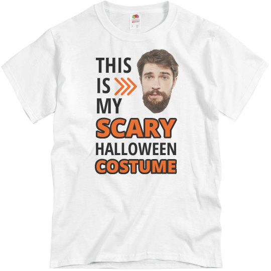 Upload Your Photo Scary Halloween Costume Shirt