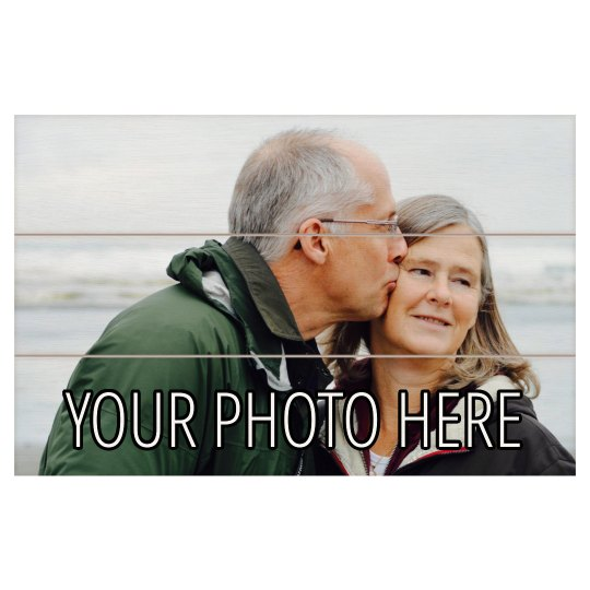 Upload Your Photo Wooden Plank