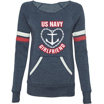 US Navy Girlfriend Anchor