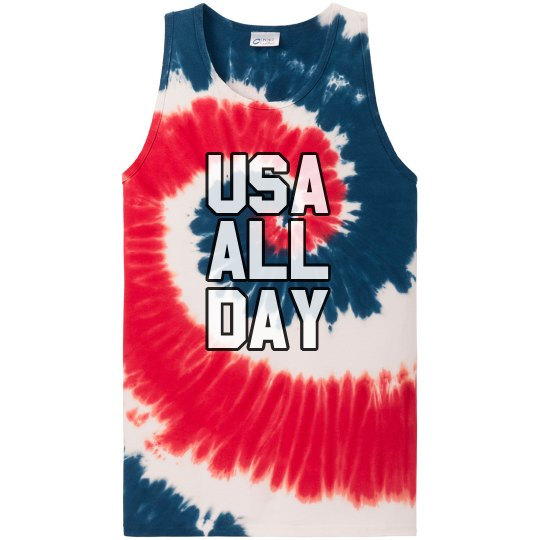 USA ALL DAY 4th of July Patriot