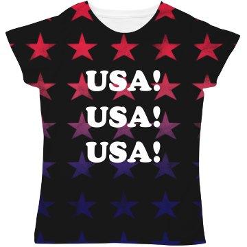 USA All The Way All Over Print