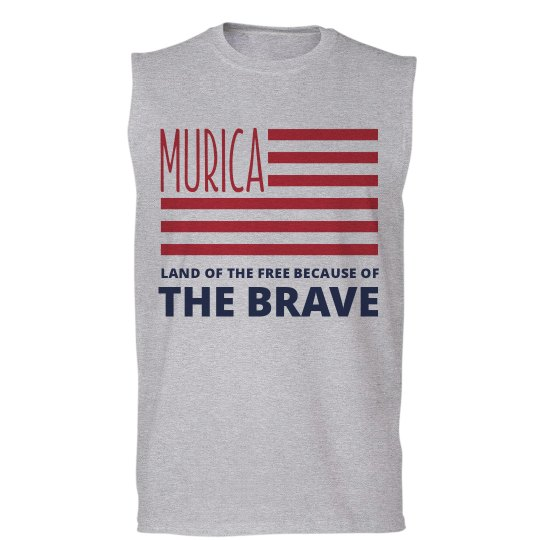 USA Free Because Of The Brave