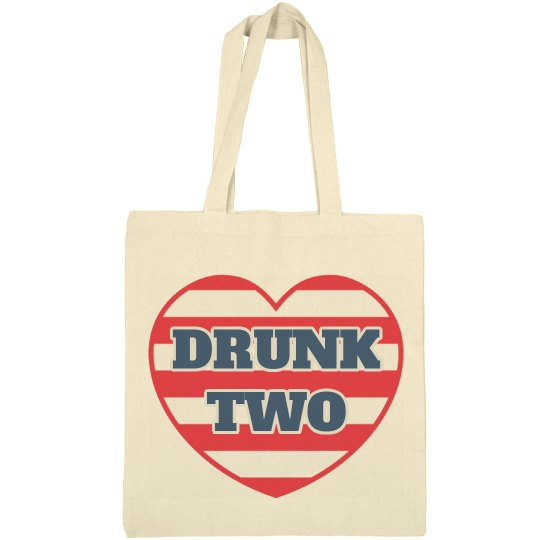 USA Matching BFF Drunk Bags