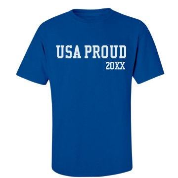 USA Proud Mens Tee
