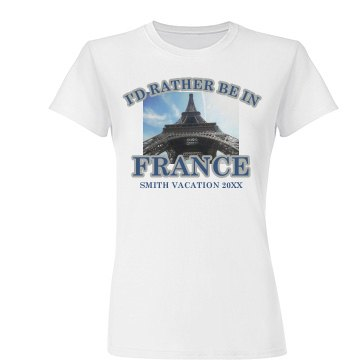 Vacation Photo T-Shirt
