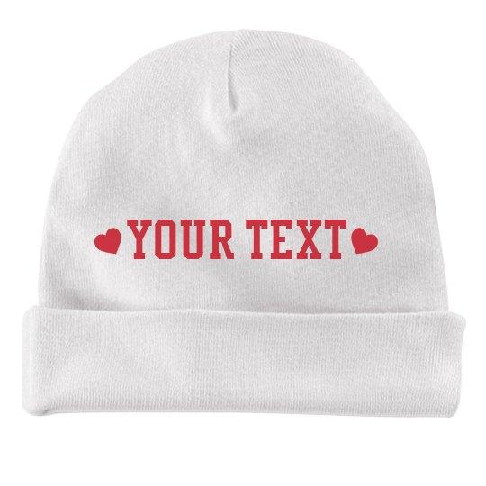 Valentine's Day Custom Text Baby