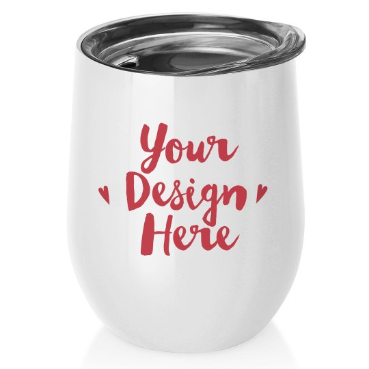 Valentine's Day Giftable Wine Tumbler