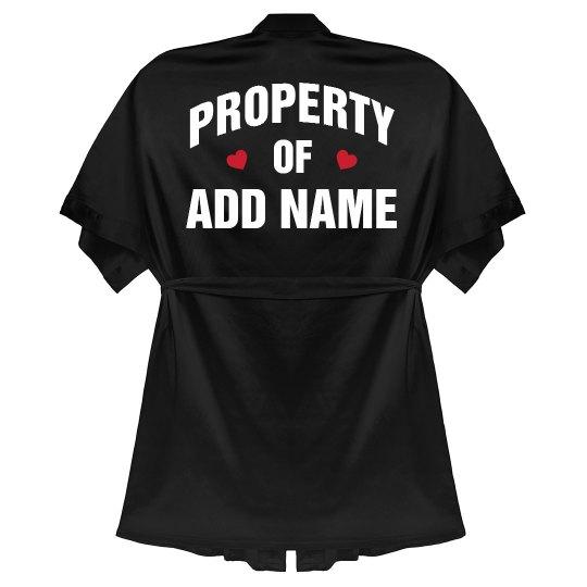 Valentine's Day Property Of Custom
