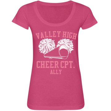Valley High Cheer Tee