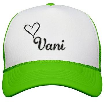 Vani's Neon Logo Hat