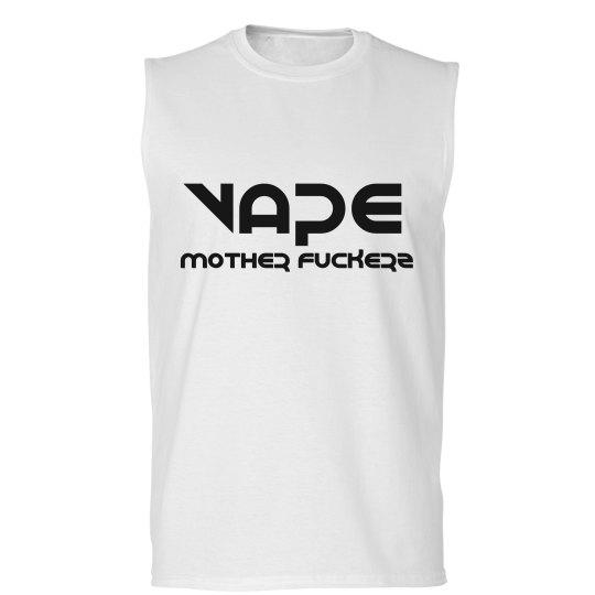 Vape Mother Fuckerz Mens Muscle Tank Top