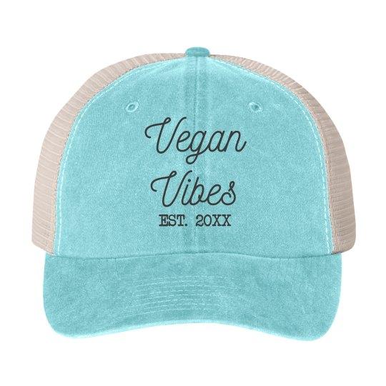 Vegan Vibes Est. Date Hat