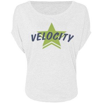 Velocity Flowy Tee