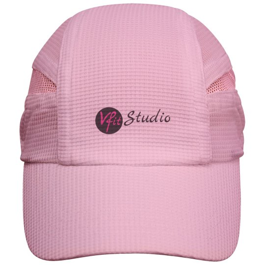 VFit Studio - White Running Hat
