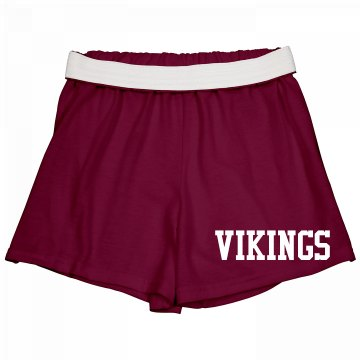 Vikings Cheer Shorts