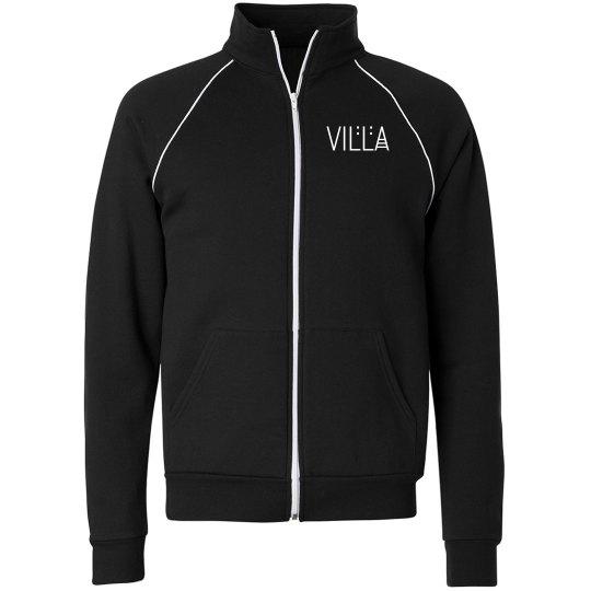 Villa Chicago Skyline Full Zip Fleece Track Jacket
