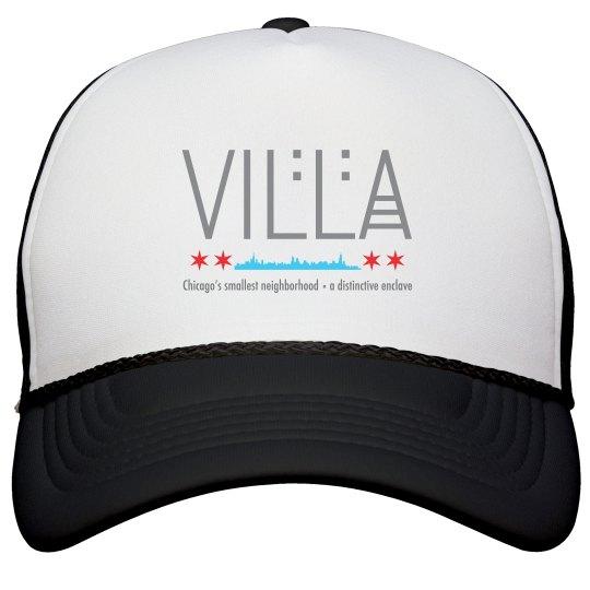 Villa Chicago Skyline Trucker Hat