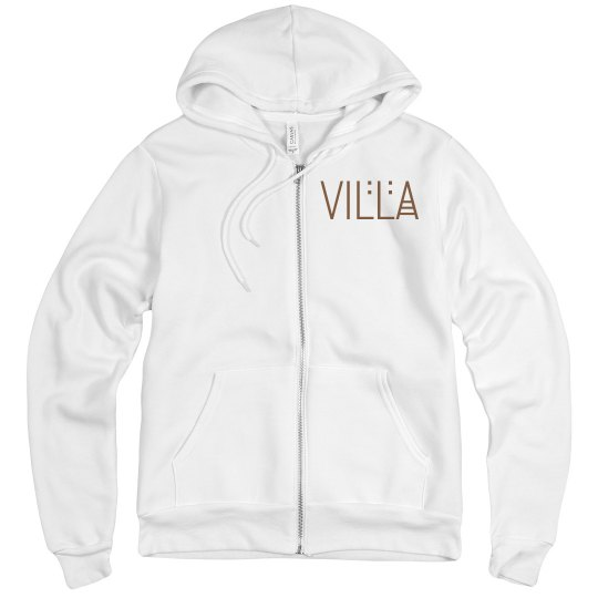 Villa Logo Full Zip Hoodie