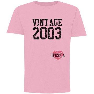 Vintage 2003 Distressed