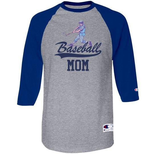 Vintage Baseball Mom