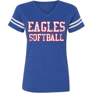 Vintage Blue - Softball