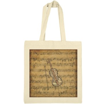 Vintage Sheet Music Violin