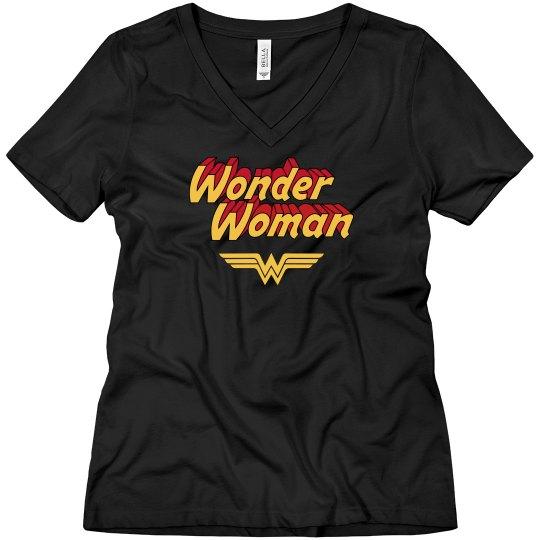 Vintage Wonder Woman Boyfriend Tee